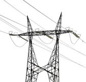 Electrical steel pylon — Stock Photo