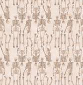 Background from skeletons — Stock Photo