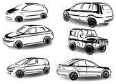 Araçları kümesi — Stok Vektör