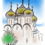 Orthodox church — Stock Vector #55581803