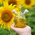 Bottle of oil — Stock Photo #52688669