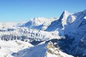 Top of Schilthorn, Switzerland — Stock Photo