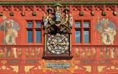 Clock in Basel, Switzerland — Stock Photo