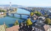 Basel city in Switzerland — Stock Photo