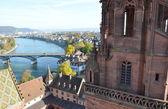 Basilej město ve Švýcarsku — Stock fotografie