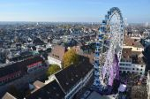 Autumn fair in Basel, Switzerland — Foto de Stock