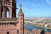 Basel from top — Stock Photo
