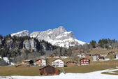 Spring in Braunwald — Stock Photo