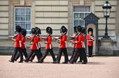 Londra, Regno Unito - 12 giugno 2014: Guardie reale britannica eseguono il Cha — Foto Stock
