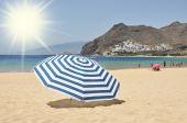 Teresitas beach of Tenerife island. Canaries — Stock Photo