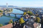 Autumn Basel in Switzerland — Stock Photo
