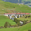 Glacier Express of Matterhorn-Gottha in Switzerland — Stock Photo #75937355