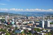 Aerial view of Zurich — Stock Photo
