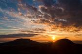 Sunset landscape — Stock Photo