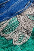 рыболовные сети — Стоковое фото