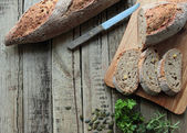 Crunchy bread — Stock Photo