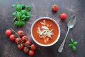Soupe aux tomates — Photo