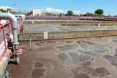 Завод сточных вод — Стоковое фото