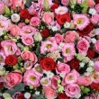 Red, pink and white wedding arrangement — Stock Photo #52362595