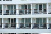 Cruise ship cabins — Stock Photo