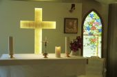Chapel interior — Stock Photo
