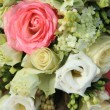 Pink and white bridal arrangement — Stock Photo #53386995