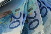 20 euro-banknoten — Stockfoto