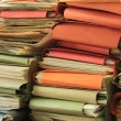 Stacked files — Stock Photo #56101461