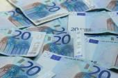 Tjugo eurosedlar — Stockfoto