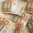 50 euro notes on a pile — Stock Photo #68040777