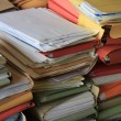 Stacked office files — Stock Photo #68322779