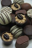 Luxurious Chocolates — Stock Photo