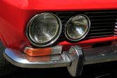 Italian sportcar detail — Stock Photo