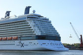 Velsen, The Netherlands - May 16 2015: Celebrity Silhouette — Stock Photo