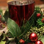 Christmas centerpiece — Stock Photo #77424738