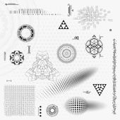 Technology design element — Stock Vector