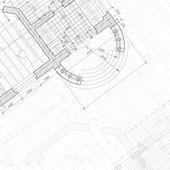 Sfondo architettonico. — Vettoriale Stock