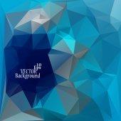 Fondo abstracto geométrico para su uso en diseño - ilustración vectorial — Vector de stock