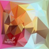 Abstract geometric background for use in design - vector illustration — Wektor stockowy