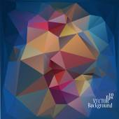 Abstract geometric background for use in design - vector illustration — ストックベクタ