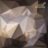 Abstract geometric background for use in design - vector illustration — Stock Vector