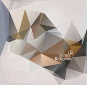 Multicolor ( Brown, Red, White ) Design Templates. Geometric Triangular Abstract Modern Vector Background.  — Vector de stock