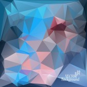Multicolor ( Blue, Rose, Violet ) Design Templates. Geometric Triangular Abstract Modern Vector Background.  — Stockvektor