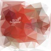 Multicolor ( Red, Gray, White) Design Templates. Geometric Triangular Abstract Modern Vector Background. — Stockvector