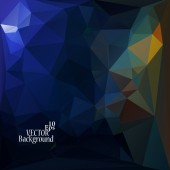 Multicolor Design Templates. Geometric Triangular Abstract Moder — Stock vektor
