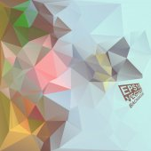Multicolor Design Templates. Geometric Triangular Abstract Modern Vector Background.  — Vetorial Stock