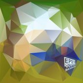 Multicolor Design Templates. Geometric Triangular Abstract Modern Vector Background.  — Stock vektor