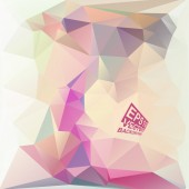 Multicolor Design Templates. Geometric Triangular Abstract Modern Vector Background.  — Stock Vector