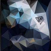 Multicolor Design Templates. Geometric Triangular Abstract Modern Vector Background.  — 图库矢量图片