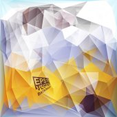 Multicolor Design Templates. Geometric Triangular Abstract Modern Vector Background.  — Stockvektor